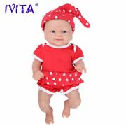 14 In Full Body Silicone Bebe Reborn Doll Realistic Girl Baby Toy With Clothes