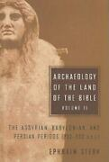 The Anchor Yale Bible Reference Library Archaeology Of The Land Of The Bible...