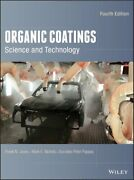 Organic Coatings Science And Technology By Frank N. Jones 9781119026891