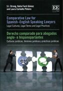 Comparative Law For Spanish-english Speaking Lawyers Legal Cult... 9781849807869