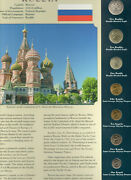 Coins From Around The World Russia 1998-2005 Bu Unc 125 Roubles 1998