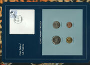 Coin Sets Of All Nations Sweden W/card 1991-1992 Unc Rare Stamp And Date 2001-4-26