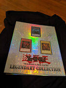Yugioh Legendary Collection Binder With Egyptian Gods - Binder Only