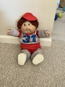 Rare Cabbage Patch Kid Vintage James Dudley Corecco 1985 Signed Xavier Roberts