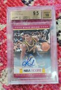 2012-13 Panini Hoops Kyrie Irving Auto 223 Rc Rookie Bgs 9.5 Pop14 None Higher