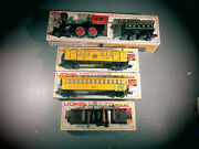Lionel Historic The General Locomotive Tender 6-8701 And 6-9552,6-9551,6-9553