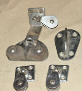 Sailboat Hardware - Pulleys Cam Clamp Cleats And Other Stuff - W.c.m. Inc