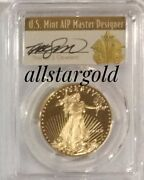 2018 W 10 1/4 Proof Gold Eagle Pcgs Pr70 First Day Of Issue Population Just 17