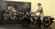 Minichamps 112 Brough Superior Ss 100 With Lawrence Figure Andndashnew + Also Have 16