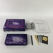 Nintendo New 3ds Xl Galaxy Style Purple Console Cib Complete In Box With Charger
