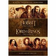 The Hobbit Trilogy And The Lord Of The Rings Trilogy 6-movie Collection Dvd
