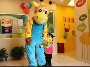 Giraffe Mascot Christmas Costume Suits Cosplay Party Game Dress Outfits Clothing