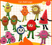 Fruit Mascot Costume Cosplay Party Game Dress Outfit Advertising Halloween Adult