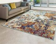 Premium Contemporary Area Rug Best Quality Multicolor Carpets Large New Rugs