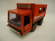Vintage Germany Taurus Service Tin And Plastic Friction Truck Toy Msb Msw