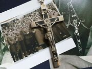 Wwii Ww2 German Army Wehrmacht Officer Pectoral Cross Pendant Crucifixes No.s2