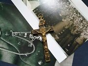 Wwii Ww2 German Army Wehrmacht Officer Pectoral Cross Pendant Crucifixes No.s5