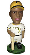 Roberto Clemente 2001 Hand Painted Bobblehead Doll - Pittsburgh Pirates Nodder