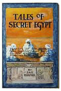 Russel Crofoot Original Cover Art For Sax Rohmerand039s Tales Of Secret Egypt