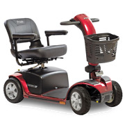 Pride Victory 10 Four Wheel Mobility Scooter, With Extended Range 40ah Batterys