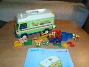 Playmobil 3204 Grocery Delivery Van, Instruction See My Grocery Store City Life