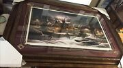 """Terry Redlin,his First Homecoming""""273/3500.framed Deluxe Massive, Signed ,mint"""