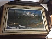 Terry Redlin,master Of The Valley,6753/6800.framed Deluxe Massive,signed ,mint