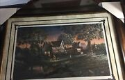 """Terry Redlin,his First Friend """",527/3500.framed Deluxe Massive, Signed ,mint"""