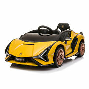 Best Ride On Cars Kids Electric Battery Ride On Toy Car Lamborghini Sian Used