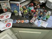 Huge Lot Of 25+ Disney Infinity 1.0 And 2.0 Figures And Power Discs Ps3 Games