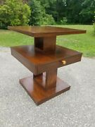Lane Architectonic Side End Table Mid Century Modern Architectural Furniture