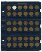 1909 - 2013 Lincoln Cent Penny Set Coin Collection Whitman Album Pennies - Bg667