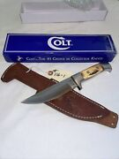 Collectible Colt 6 Cylinder Mod. Ct-849 New In The Box Bowie Knife