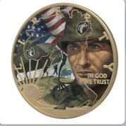 2021 Colorized Ghost Army Ww 2 American Silver Eagle In Stock 250 Made