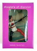 Starlux Knights Camelot Plasticum Figure Spear Vintage New Old Stock Orig Box