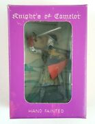 Starlux Knights Camelot Plasticum Figure Lion Shield Armor Vintage New Old Stock