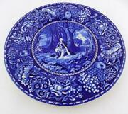 Royal Crownford Washingtons Prayer At Valley Forge Plate Staffordshire Good Cond