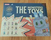 The Monsters Toys Series By Pop Mart How2work X Kasing Lung New Sealed And Case