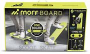Morfboard Scooter And Skateboard Combo Set New