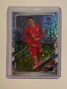 Jamal Musiala 2020-21 Topps Chrome Champions League Rookie Speckle Refractor Rc