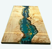 Resin Table Top Epoxy Coffee Table Top Epoxy Table Acacia Wood Table Top Deco