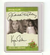 Rare Kyra Schon And Judith Ridley Autograph 2012 Night Of The Living Dead Card