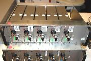 Unholtz Dickie Charge Amplifiers Qty 5 Of 122p W/ Power Case And Cord Complete