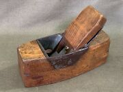 Kimberley Patent Coffin Smoother With Iron Mouth Marples Iron And Back Plate