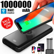 1000000mah 4 Usb Backup External Battery Power Bank Pack Charger For Cell Phone