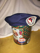 Vintage Airstream Wally Byam Caravaners Blue Beret Trailer Hat Size Small Wbcci
