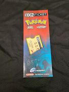 Pokemon Eon Ticket Ruby And Sapphire Version E-reader Factory Sealed