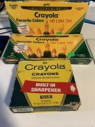 0071662000646 Crayola Crayons And Lights Used But In Good Condition Antiques
