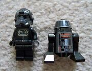 Lego Star Wars - Rare - R5-j2 Droid And Tie Fighter Pilot - Excellent - From 9492