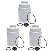 3pcs Duramax Fuel Filter 6.6 Pps9059 Replaces Acdelco Tp3018 Tp3012